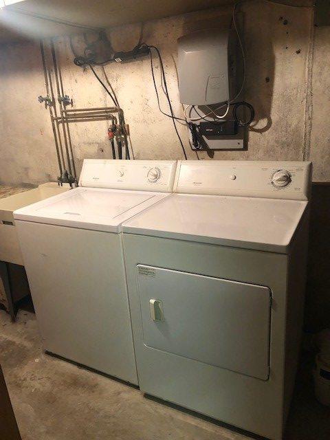 191 Blanchard Basement Laundry