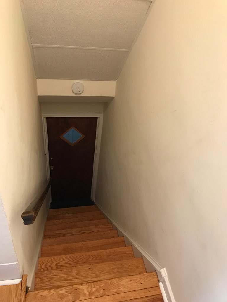 3848 Plumstead Stairs Looking Down