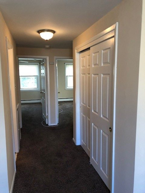 3208 Albermarle interior hallway