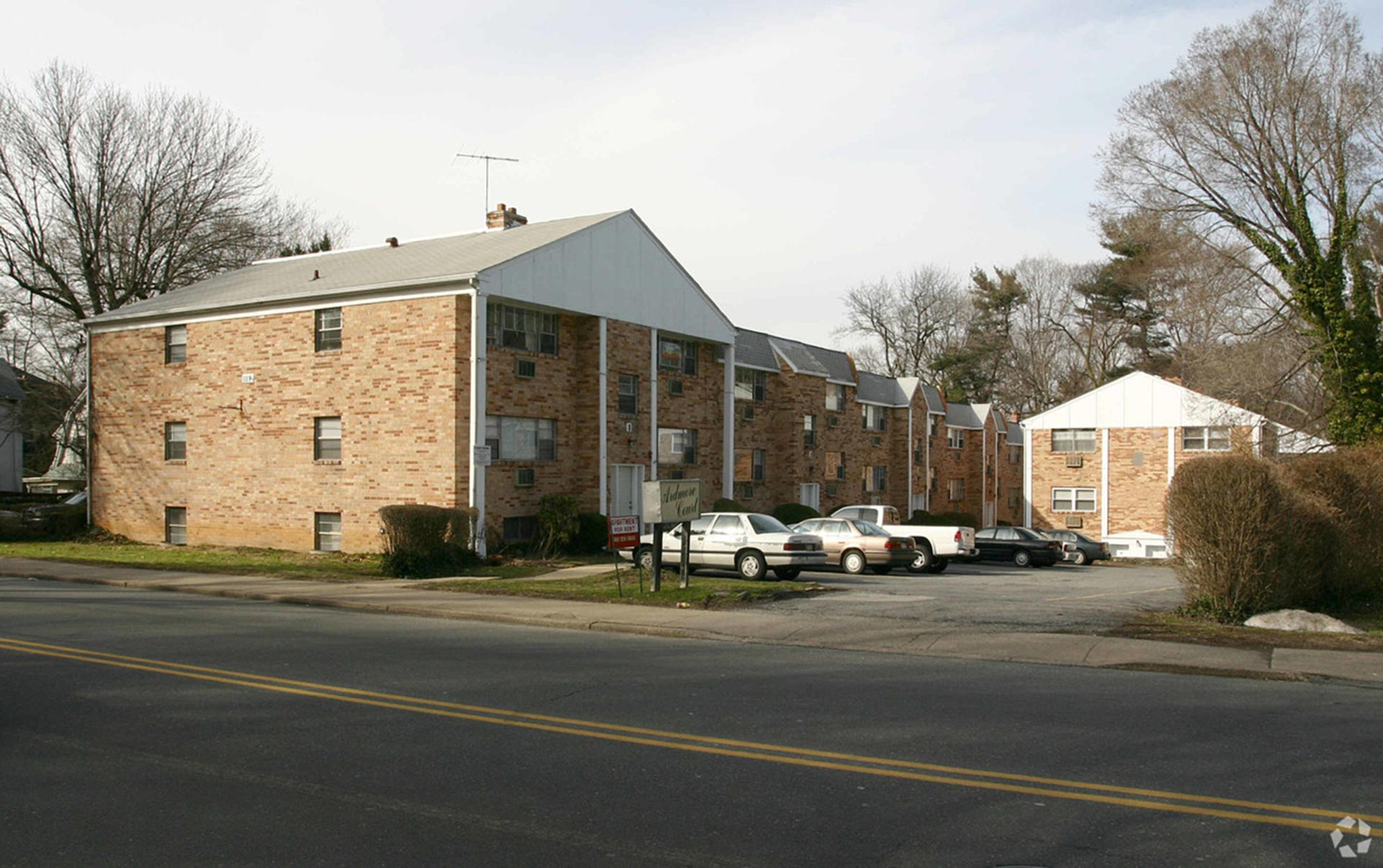 Ardmore Court building exterior from the road