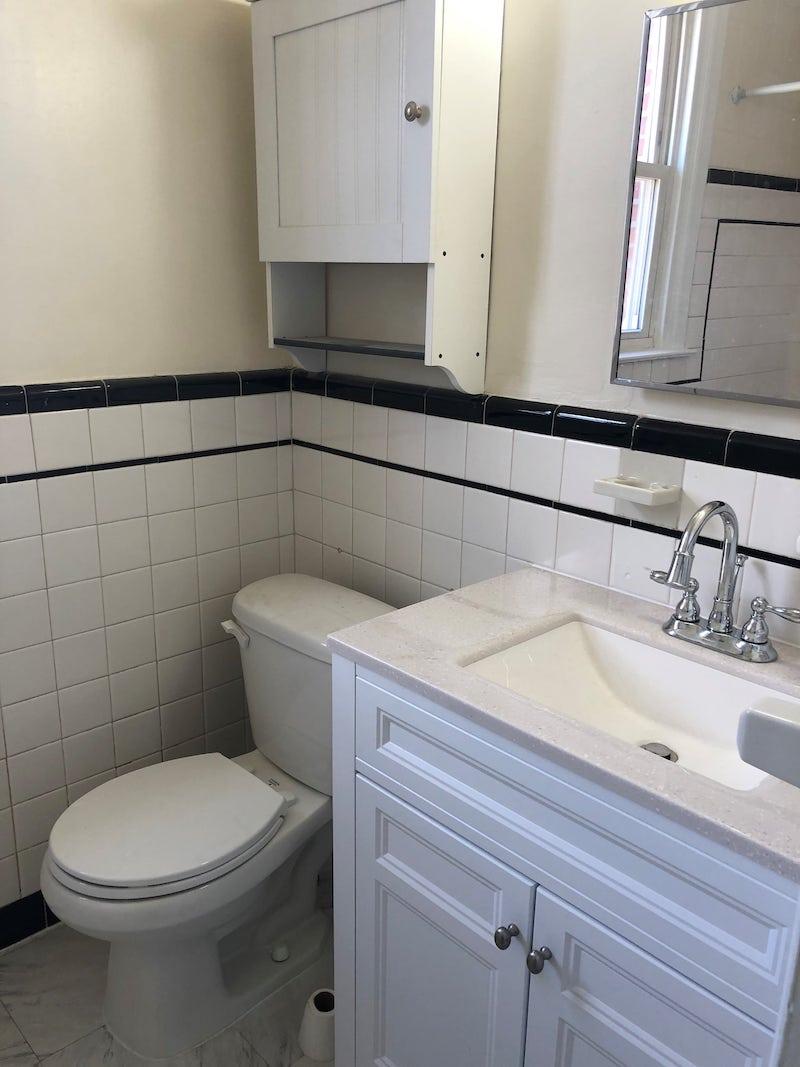 4241 Valley unit interior bathroom vanity