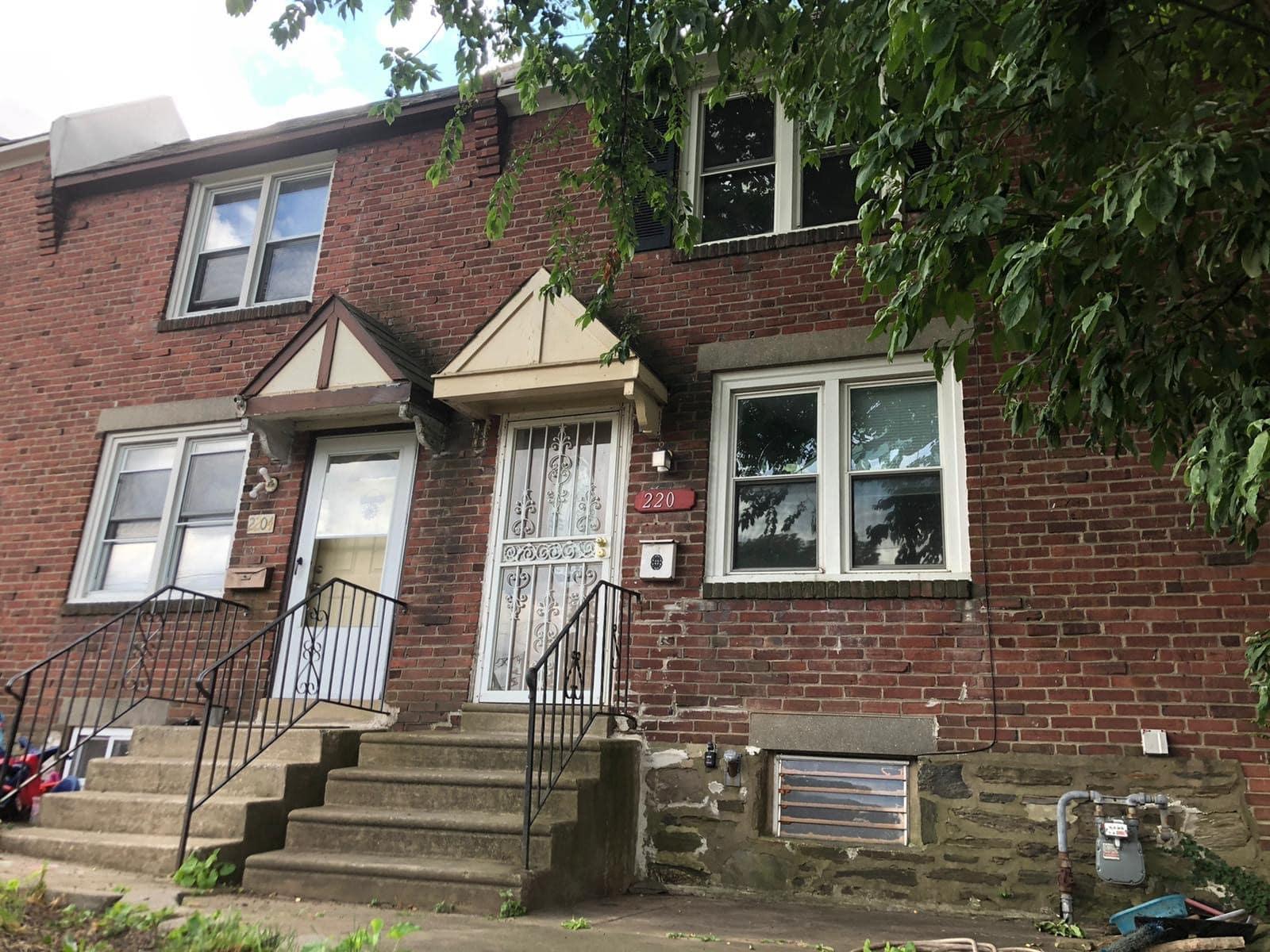 2206 Bond property entrance steps